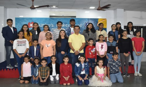 Smt. Shantaben Haribhai Gajera Trust, based in Surat, in collaboration with Sunita's Makerspace, organized an open-for-the community online competition to celebrate Maker's Day, an event that is held every year to encourage learners to give expression to their creative ideas.