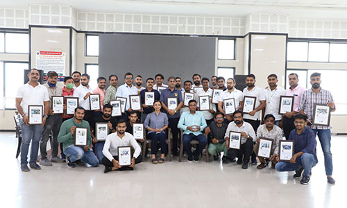 <p>To appreciate such Corona warriors from, Atal Samvedna Covid Care Isolation Centre, Samasta Patidar Samaj Isolation Centre Gajera Trust felicitated them with a certificate of appreciation for their altruistic service. It is an initiative for not only just admire their efforts, but also to inspire others for doing the same for others.</p>